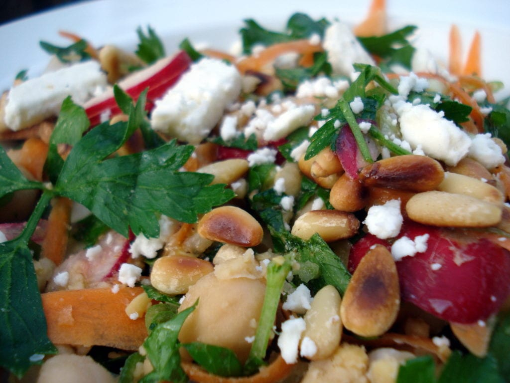 chickpea salad photo 2