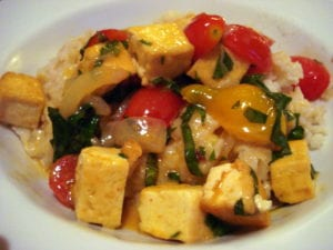 [tofu curry photo]