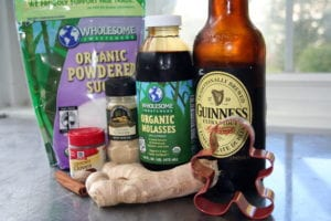 [gingerbread ingredients photo]