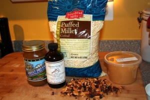 millet krispies ingredients 300x200