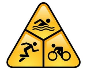 triathlon sign image 300x244