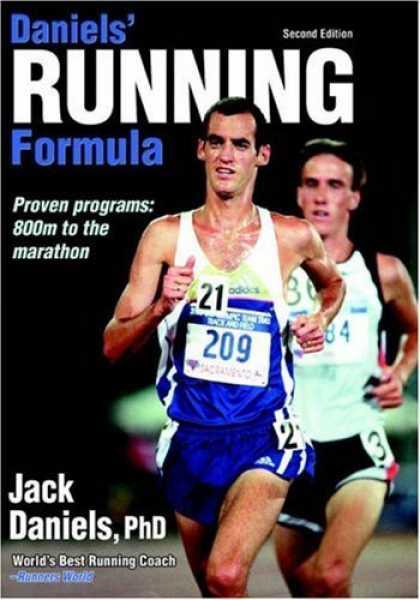 Daniel's Running Formula by Jack Daniels, PHD, book cover