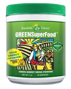 Container of Amazing Grass GREEN Superfood
