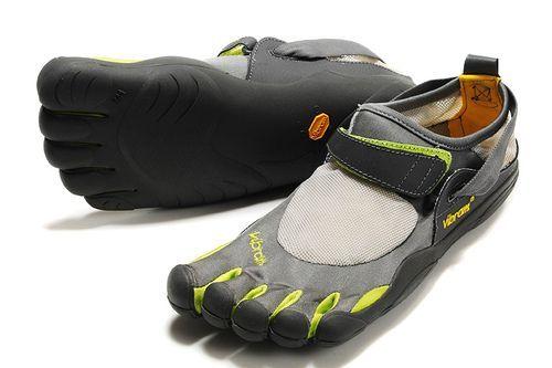 Vibrams - barefoot running shoe
