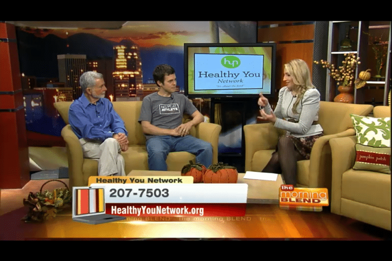 Matt on Morning Blend in Tucson.