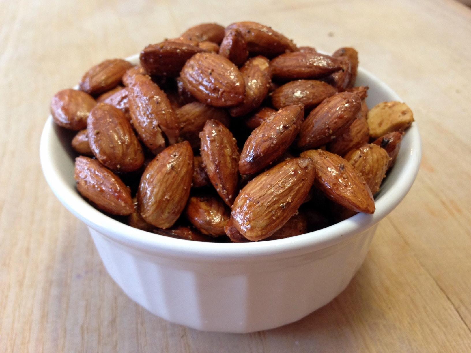 Roasted and seasoned S'nuts