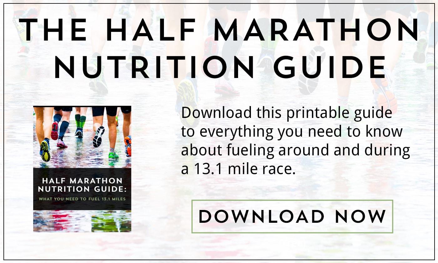 The Half Marathon Nutrition Guide